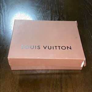 Louis Vuitton distressed collectible box